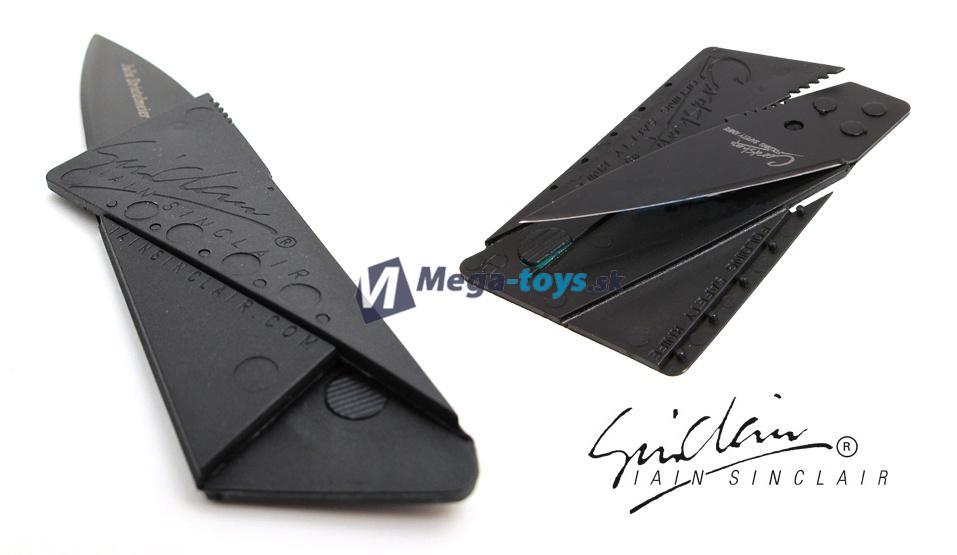 Skladací nôž do peňaženky v podobe kreditnej karty  238ba8d44d1