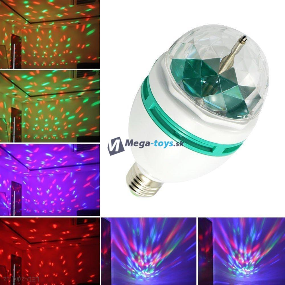 Disco LED žiarovka