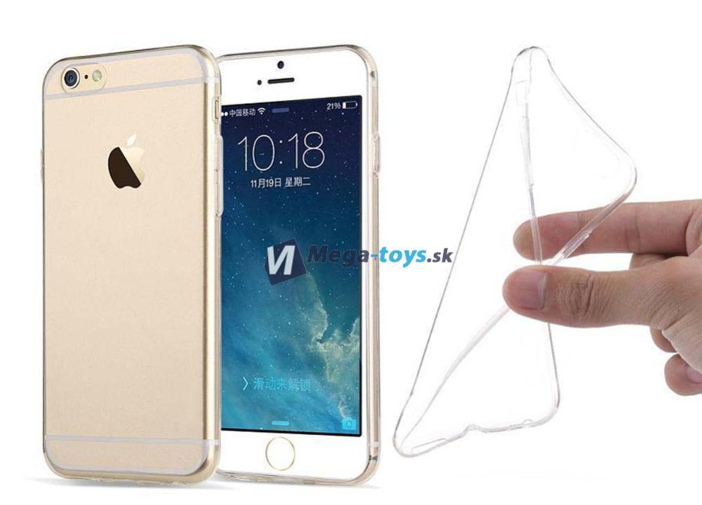 Ultratenký silikónový priehľadný kryt pre iPhone 6 PLUS  f47567d3566