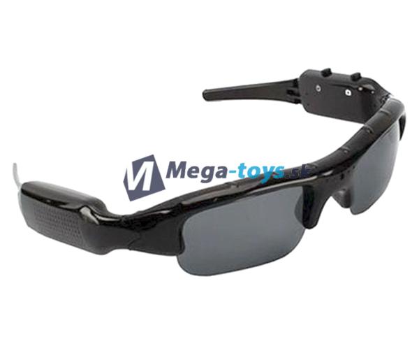 bb256a4e9 Slnečné okuliare s integrovanou kamerou a fotoaparátom | MEGA-TOYS ...