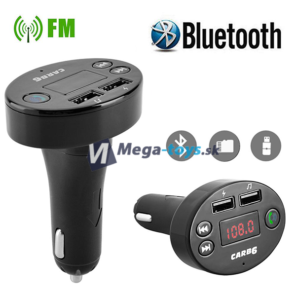 Bluetooth FM Transmitter Car B6