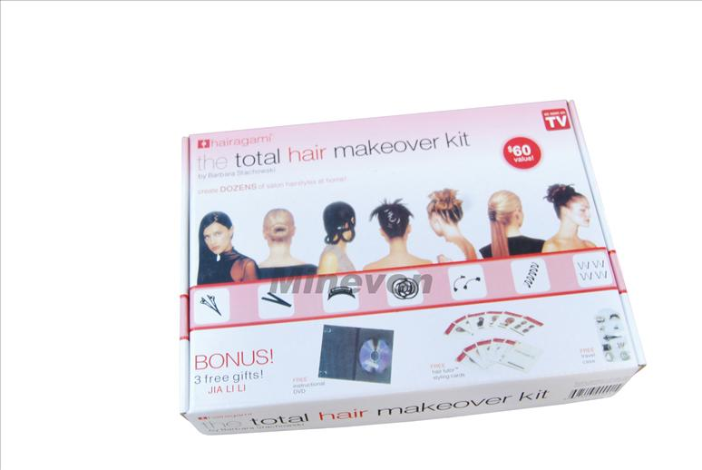 Účesová sada - total hair makeover kit
