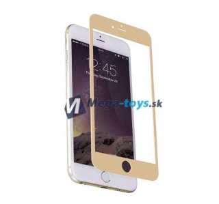 Tvrdené sklo 3D Full Cover pre iPhone 7 gold