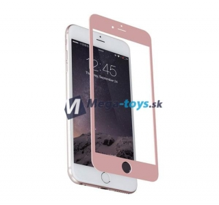 Tvrdené sklo 3D Full Cover pre iPhone 7 rose gold