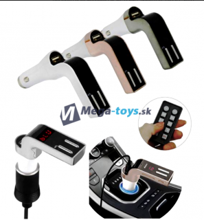 Bluetooth FM Transmitter Car M 590